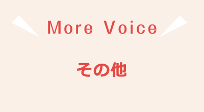 More Voice その他